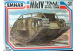 MKIV Female Tank WW1 Battle Tank