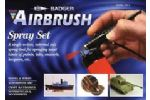 AIRBRUSH SPRAY SET