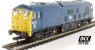 Class 24 24077 in BR blue with indicator discs. DCC Fitted