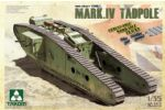 WWI Heavy Battle Tank Mk IV Male Tadpole