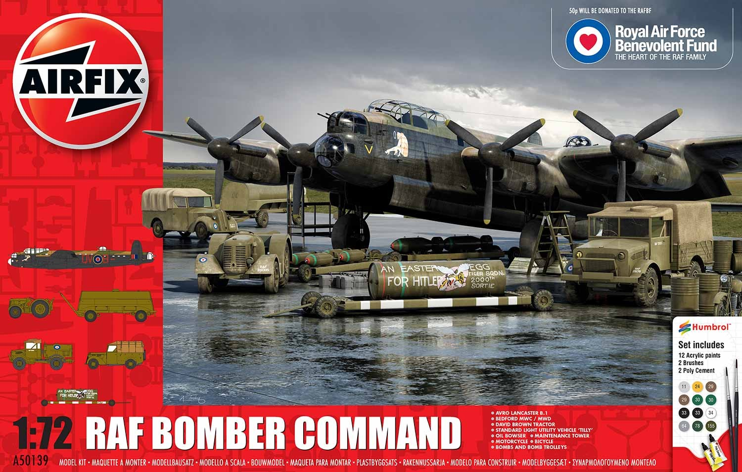 Airfix Raf Bomber Command Scale 1 72 Access Models