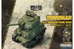 U.S. Medium Tank M4A1 Sherman World War Toon