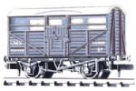 CATTLE TRUCK - LMS LIGHT GREY
