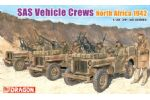 SAS Vehicle Crews North Africa 1942