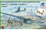 DFS-230B-1 German Invasion Glider with Dragon Paratroops figures (Operation Eiche)