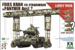 Fries Kran 16t Strabokran 1943/44 Production Combined With Panther (W/ Full Interior)