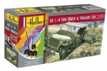 US 1/4 Ton Truck Trailer Gift Set