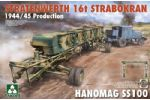 Stratenwerth 16t Strabokran 1944/45 Production w/ Hanomag SS100