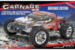 CARNAGE 2.0 BRUSHED TRUCK 4WD RTR - RED