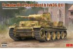 Pz.Kpfw.VI (7,5cm) Ausf.B (VK36.01) w/ workable track links