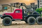 ATLAS 6X6 RTR SCALE CRAWLER - RED